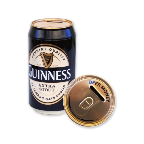 Salvadanaio Lattina Guinness